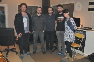 tutú estudios con Sergio Rodríguez (mezcla y masterización)